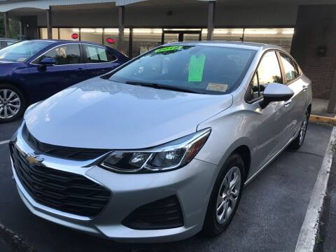 2019 Chevrolet Cruze for sale at Scotty's Auto Sales, Inc. in Elkin NC