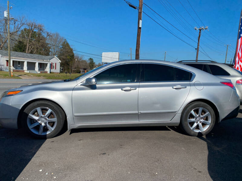 2012 Acura TL for sale at Cars for Less in Phenix City AL