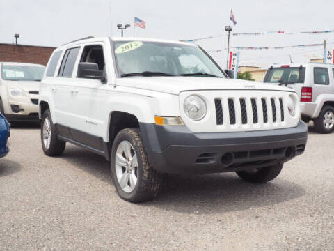 2014 Jeep Patriot for sale at Sunrise Used Cars INC in Lindenhurst NY