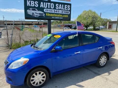 2013 Nissan Versa for sale at KBS Auto Sales in Cincinnati OH