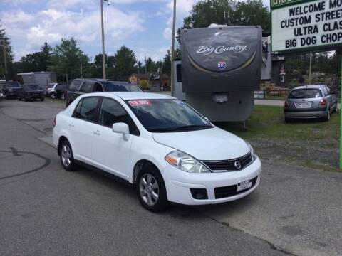 2010 Nissan Versa for sale at Giguere Auto Wholesalers in Tilton NH