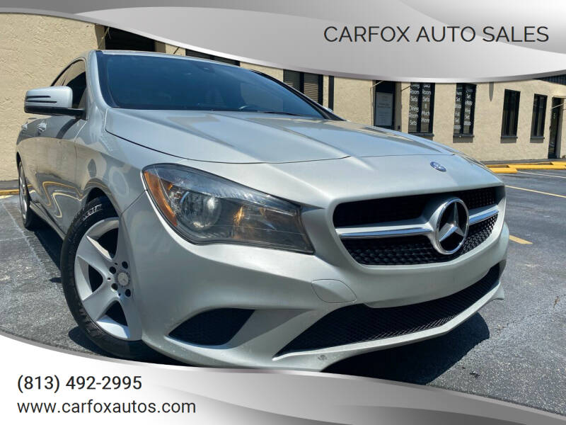 2015 Mercedes-Benz CLA for sale at Carfox Auto Sales in Tampa FL