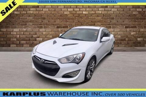 2015 Hyundai Genesis Coupe for sale at Karplus Warehouse in Pacoima CA