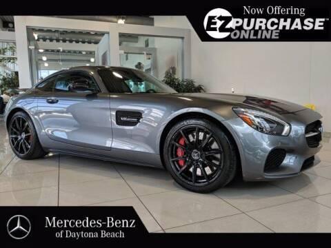 2016 Mercedes-Benz AMG GT for sale at Mercedes-Benz of Daytona Beach in Daytona Beach FL