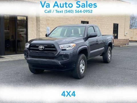 2017 Toyota Tacoma for sale at Va Auto Sales in Harrisonburg VA