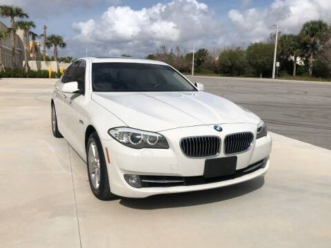 2013 BMW 5 Series for sale at EUROPEAN AUTO ALLIANCE LLC in Coral Springs FL
