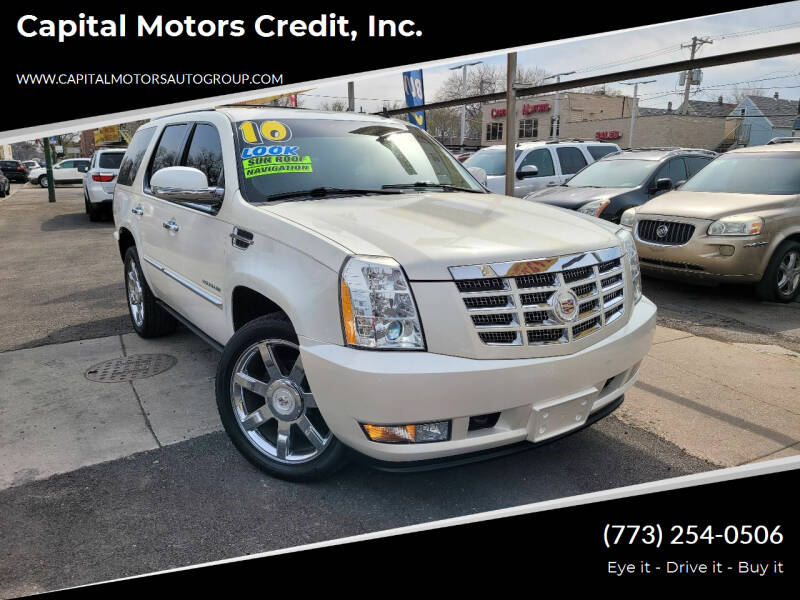 2010 Cadillac Escalade for sale at Capital Motors Credit, Inc. in Chicago IL