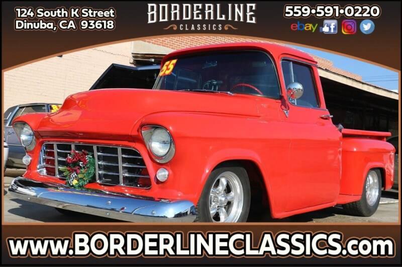 1955 Chevrolet 3100 for sale at Borderline Classics in Dinuba CA