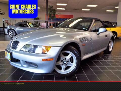 1996 BMW Z3 for sale at SAINT CHARLES MOTORCARS in Saint Charles IL