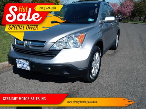 2007 Honda CR-V for sale at STRAIGHT MOTOR SALES INC in Paterson NJ