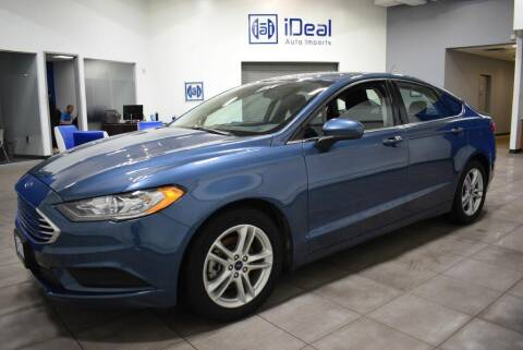 2018 Ford Fusion for sale at iDeal Auto Imports in Eden Prairie MN