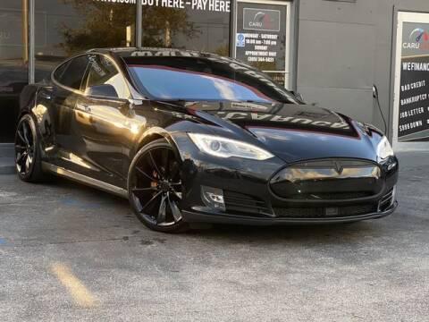 2015 Tesla Model S for sale at CARUCARS LLC in Miami FL