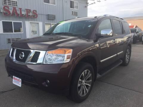 2015 Nissan Armada for sale at De Anda Auto Sales in South Sioux City NE