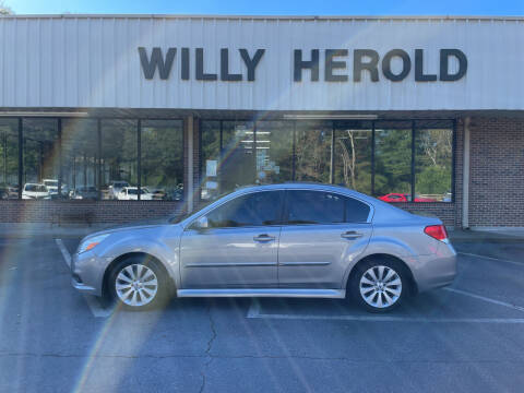 2011 Subaru Legacy for sale at Willy Herold Automotive in Columbus GA