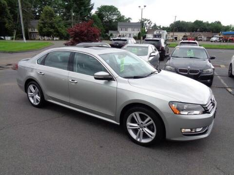 2014 Volkswagen Passat for sale at BETTER BUYS AUTO INC in East Windsor CT
