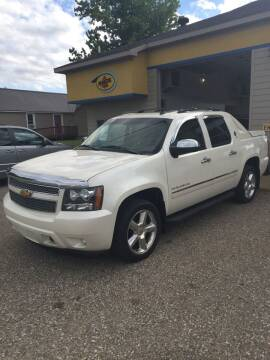 2012 Chevrolet Avalanche for sale at Hines Auto Sales in Marlette MI