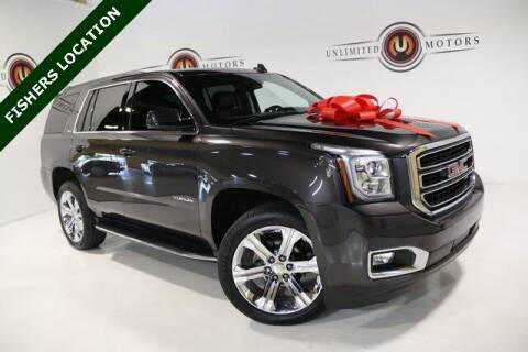 2017 GMC Yukon for sale at Unlimited Motors in Fishers IN