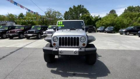 2008 Jeep Wrangler for sale at Cj king of car loans/JJ's Best Auto Sales in Troy MI