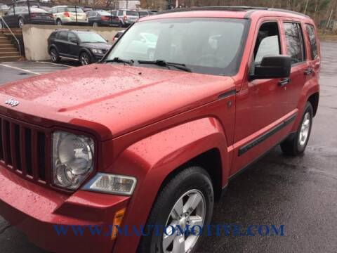 2009 Jeep Liberty for sale at J & M Automotive in Naugatuck CT