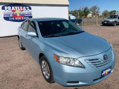 2008 Toyota Camry for sale at Praylea's Auto Sales in Peyton CO