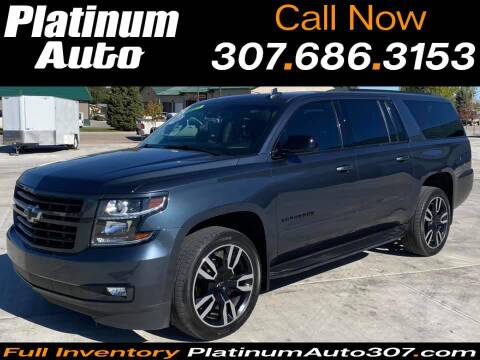 2019 Chevrolet Suburban for sale at Platinum Auto in Gillette WY