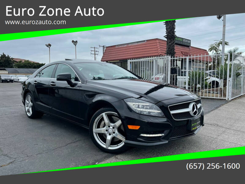 2014 Mercedes-Benz CLS for sale at Euro Zone Auto in Stanton CA