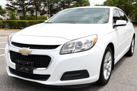 2015 Chevrolet Malibu for sale at Prime Auto Sales LLC in Virginia Beach VA