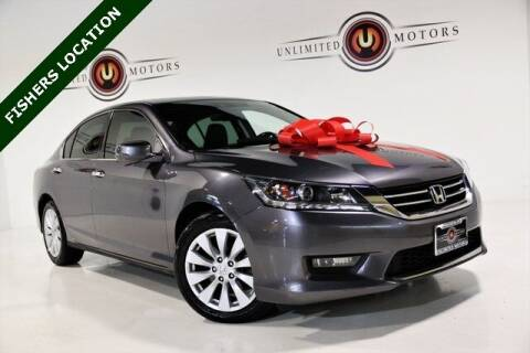 2014 Honda Accord for sale at Unlimited Motors in Fishers IN