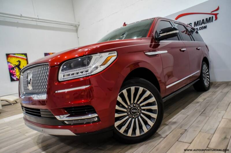 2018 Lincoln Navigator for sale at AUTO IMPORTS MIAMI in Fort Lauderdale FL
