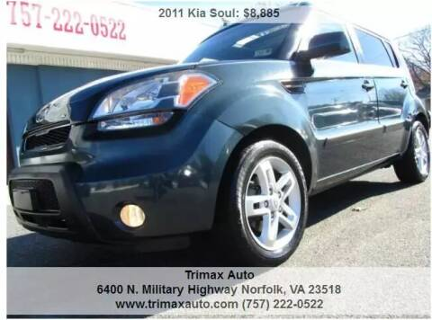 2011 Kia Soul for sale at Trimax Auto Group in Norfolk VA