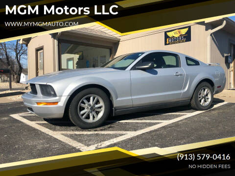 2006 Ford Mustang for sale at MGM Motors LLC in De Soto KS