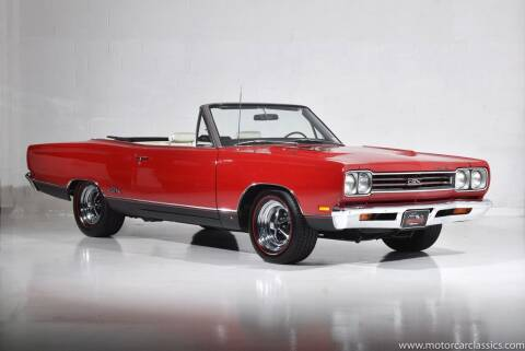 1969 Plymouth GTX for sale at Motorcar Classics in Farmingdale NY