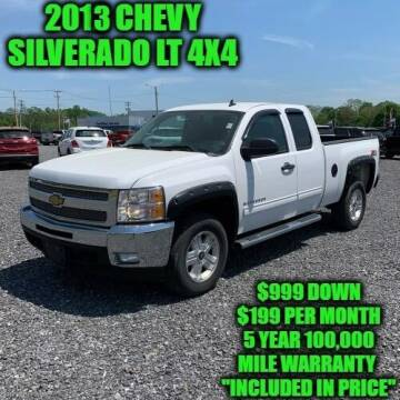 2013 Chevrolet Silverado 1500 for sale at D&D Auto Sales, LLC in Rowley MA