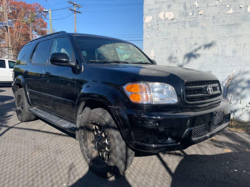 2002 Toyota Sequoia for sale at O A Auto Sale in Paterson NJ