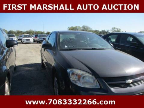 2008 Chevrolet Cobalt for sale at First Marshall Auto Auction in Harvey IL