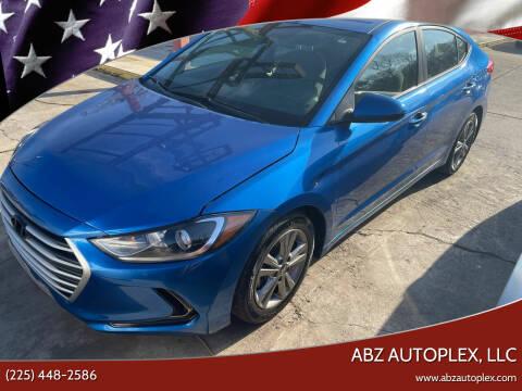 2018 Hyundai Elantra for sale at ABZ Autoplex, LLC in Baton Rouge LA