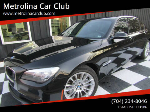 2014 BMW 7 Series for sale at Metrolina Car Club in Matthews NC