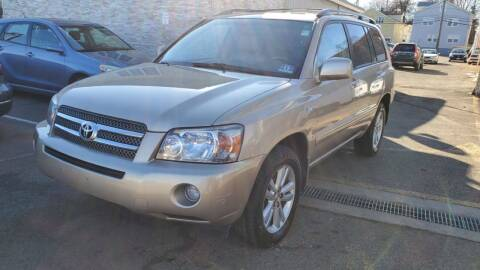 2006 Toyota Highlander Hybrid for sale at MFT Auction in Lodi NJ