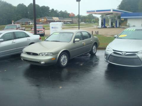 1997 Infiniti J30 for sale at Mike Lipscomb Auto Sales in Anniston AL