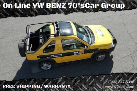 2003 Land Rover Freelander for sale at On Line VW BENZ 70'sCar Group in Warehouse CA
