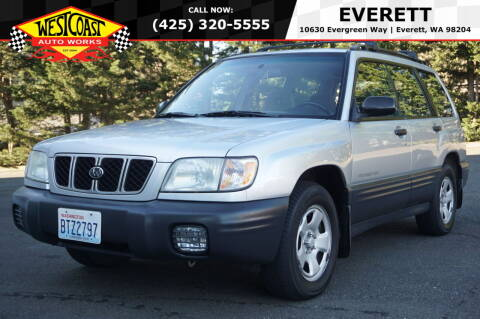 2002 Subaru Forester for sale at West Coast Auto Works in Edmonds WA