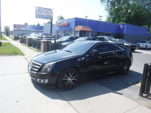 2011 Cadillac CTS for sale at City Motors Auto Sale LLC in Redford MI