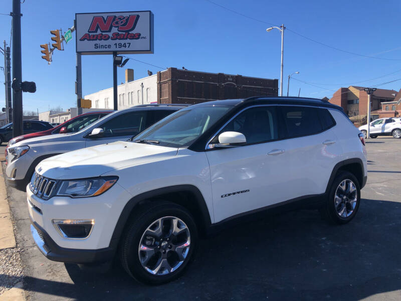 2020 Jeep Compass for sale at N & J Auto Sales in Warsaw IN