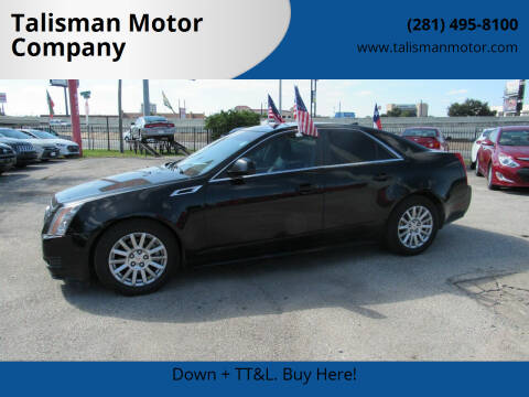 2012 Cadillac CTS for sale at Talisman Motor Company in Houston TX