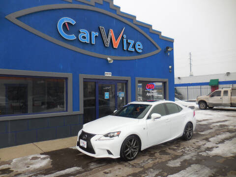 2015 Lexus IS 250 for sale at Carwize in Detroit MI
