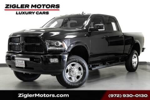 2017 RAM Ram Pickup 2500 for sale at Zigler Motors in Addison TX