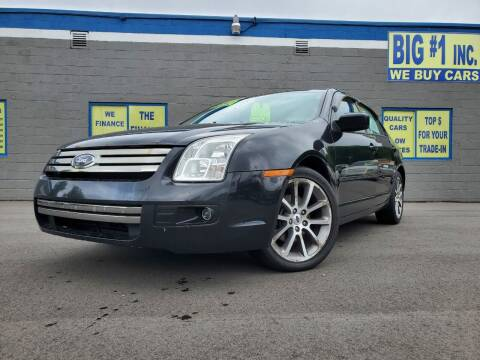 2009 Ford Fusion for sale at BIG #1 INC in Brownstown MI
