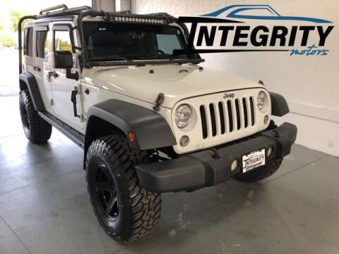2014 Jeep Wrangler Unlimited for sale at Integrity Motors, Inc. in Fond Du Lac WI