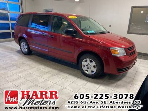 2008 Dodge Grand Caravan for sale at Harr's Redfield Ford in Redfield SD