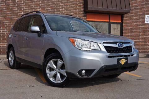 2015 Subaru Forester for sale at Effect Auto Center in Omaha NE